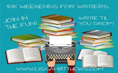 10K Weekends for Writers – January 5-8, 2017