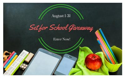 Enter to Win in the Set for School Giveaway!